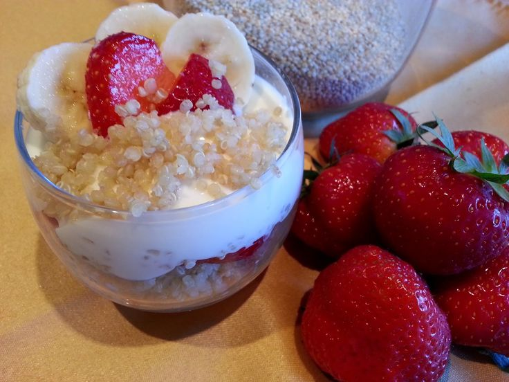 Slimming World Delights: Sweet Quinoa with Fruit and Yogurt