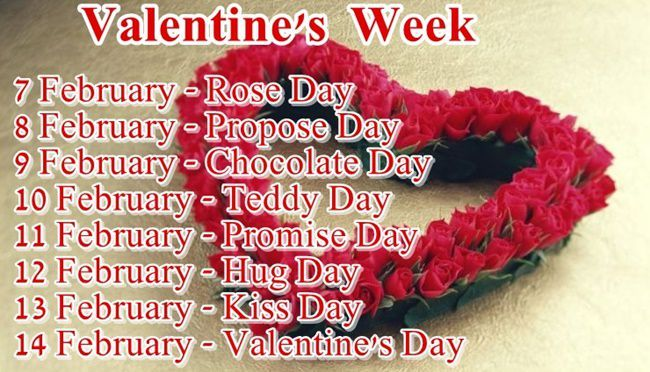 Valentines Week List 2020 When Is Valentine S Week Starting