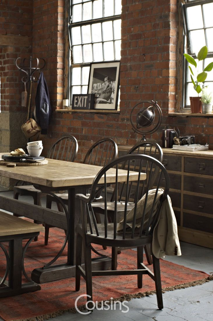 Kara dining collection is crafted from solid wood with complimenting light and dark wood finishes, help to create the rustic and warm feel guaranteed to bring character to your dining room.