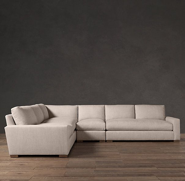 Maxwell Upholstered Left Arm L Sectional Sectionals