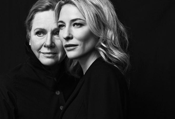 Cate Blanchett and Liv Ullmann by Brigitte Lacombe