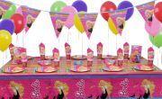 Doğum Günü Barbie Parti Seti 16 Kişilik