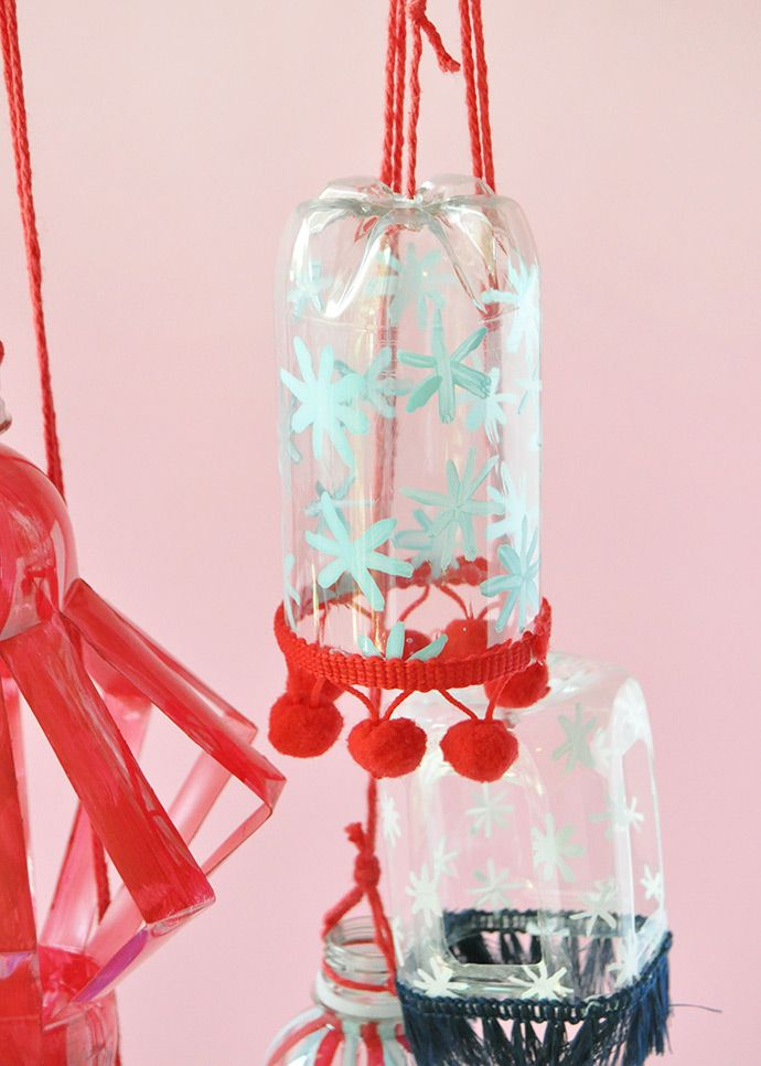 Recyclable Plastic Bottle Lanterns   DIY Crafts + Tutorials