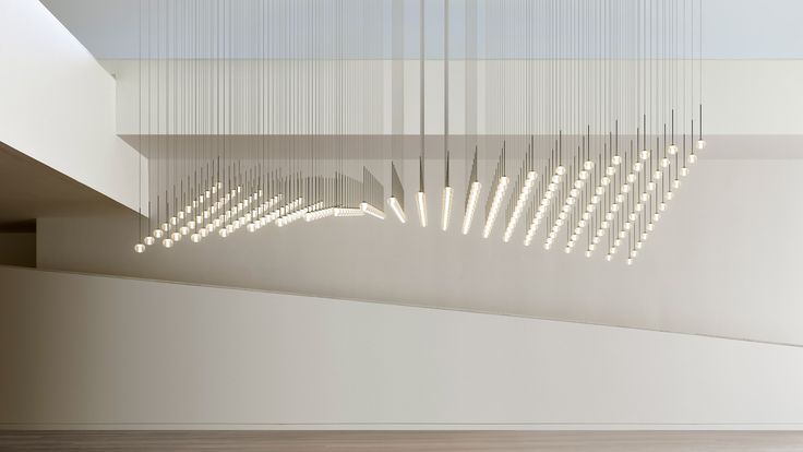 Vibia launches customisable lighting system made up of glass spheres