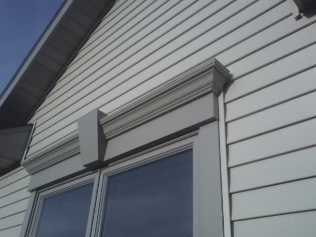 Window Crossheads 1 Exterior Window Trim Options Windows