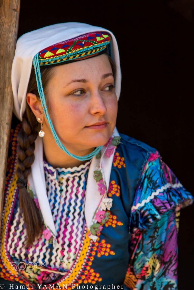 Turkish woman from Kastamonu.