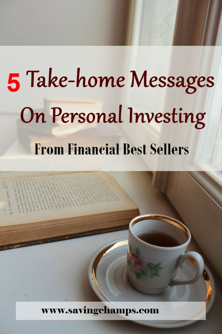 Here are five best investment books I recent read and the take-home messages from these books. I recommend new investors read these financial best sellers. Personal finance book; personal investment book