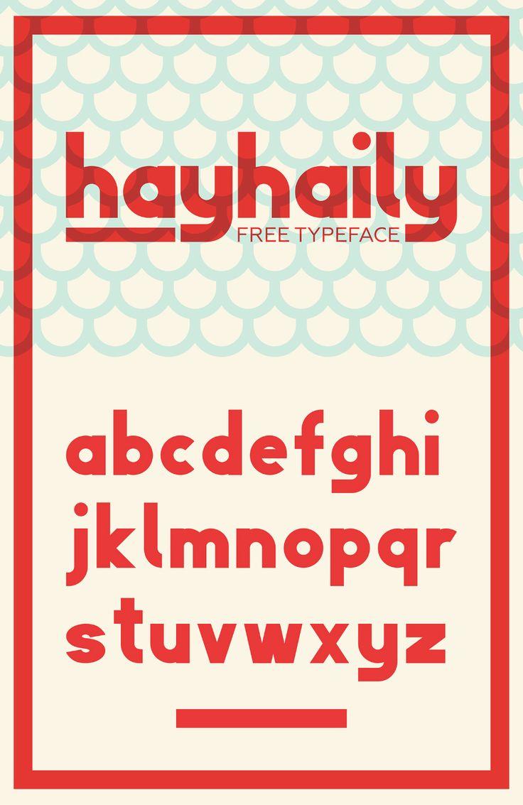 HayHaily Display Free Typeface
