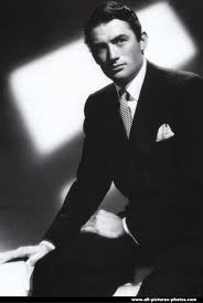Gregory Peck old hollywood...Handsome.