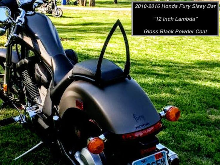 Honda Fury Custom Sissy Bar Backrests & Luggage Racks