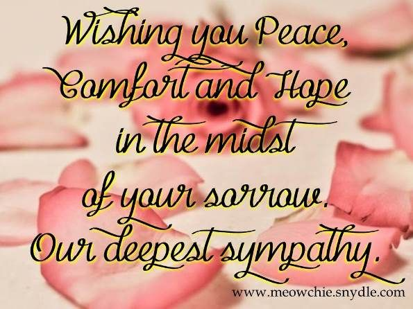 Best Condolences Images On   Sympathy Cards