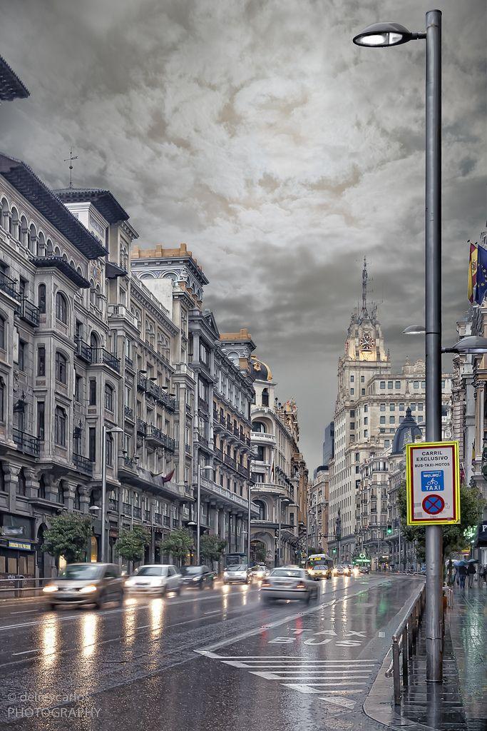 Otoño en Madrid, Gran Vía