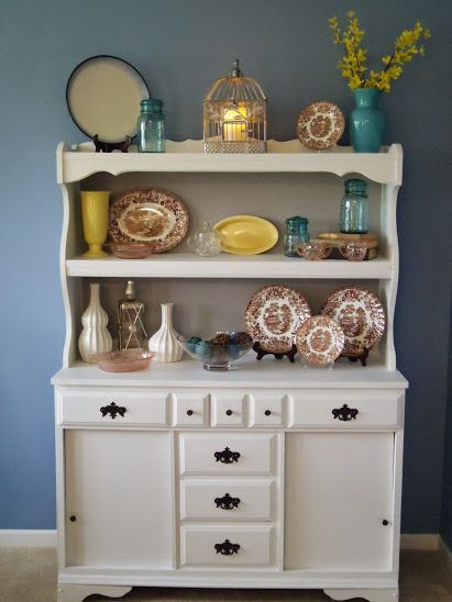 laminate furniture makeover. upcycled china laminate hutch using paint furniture makeoverdiy makeover