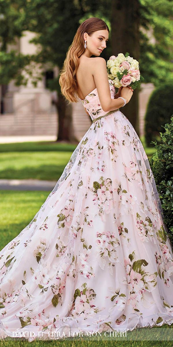Best 25 Printed Wedding Dress Ideas On Pinterest