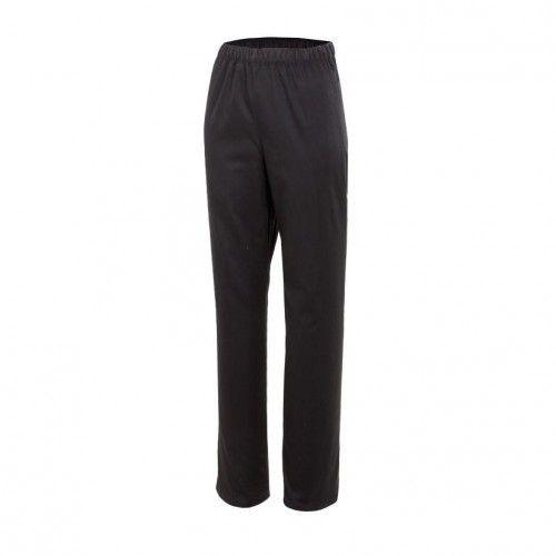 uniforme de limpieza pantalón de pijama color negro Uniformes Web