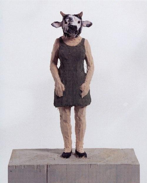 @Alison Hobbs Corey - Wood carvings/figures of Stephan Balkenhol