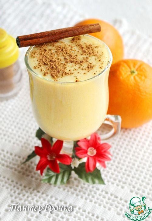 Нежный апельсиновый крем - кулинарный рецепт