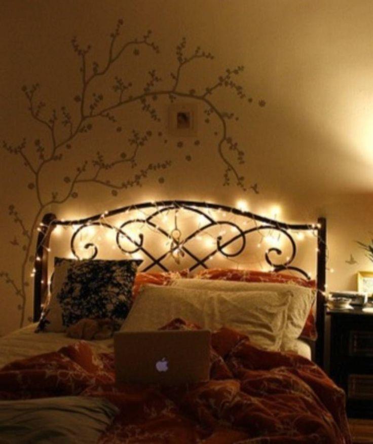 cordão luzes de fada à pilha - iluminação sem marca