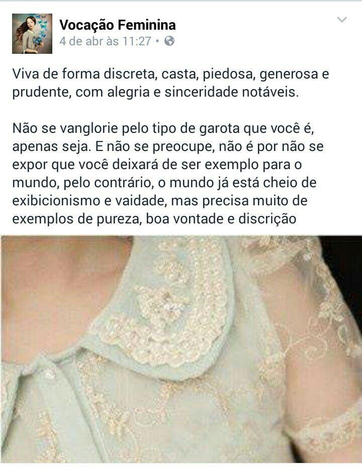 #mulher #piedosa #cristã #puritana Créditos na imagem