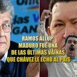 Afirma Ramos Allup: Maduro fue una de las últimas vainas que Chávez le echó al país - http://critica24.com/index.php/2016/07/10/afirma-ramos-allup-maduro-fue-una-de-las-ultimas-vainas-que-chavez-le-echo-al-pais/