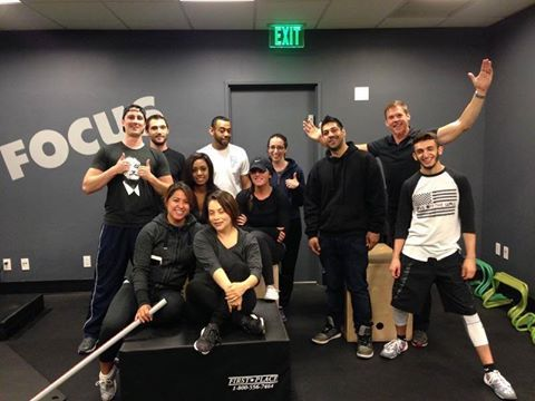 Another successful NCEP Standard class. A huge thank you to Equinox San Francisco for hosting another great event
