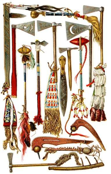 Traditional Iroquois Weapons The Iroquois are an American Indian collective confederacy or tribe (made up of five different tribes) that are...