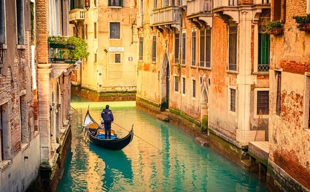 Venice, Italy the city built on water