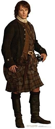 cool Jamie Fraser - Scottish Version - Starz Outlander - Advanced Graphics Life Size Cardboard Standup