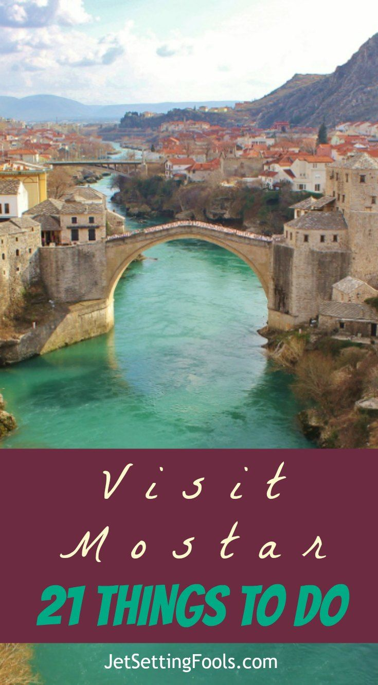 The historic city of Mostar, Bosnia-Herzegovina is both charming and complicated; idyllic and evocative. The first sight of the centerpiece bridge makes visitors swoon – but seeking out lesser-visited corners of the city can result in an everlasting love.