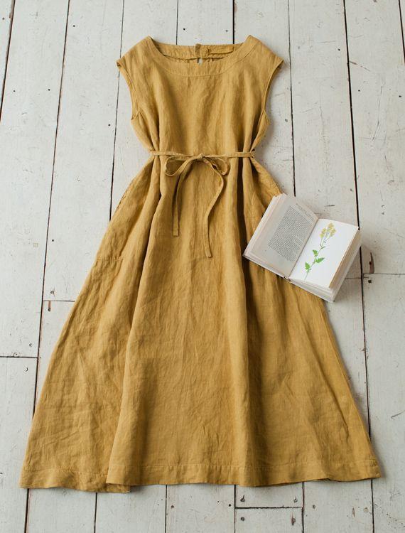 Johanna Lisette dress -- simple dress-sewing idea