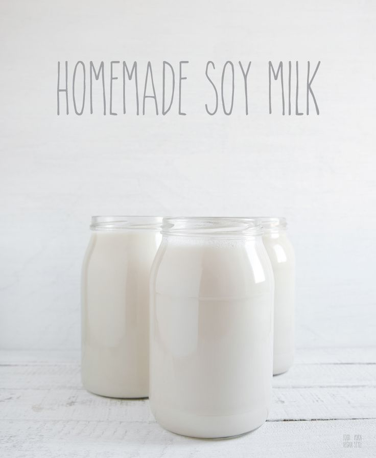 Homemade soy milk. An easy step-by-step guide on how to make cheap and natural soy milk. Vegan, soy milk / Domowe mleko sojowe