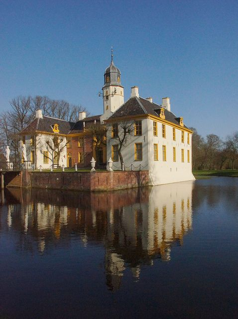 Fraeylemaborg is the most important of the Borgen in the province of Groningen, the Netherlands.