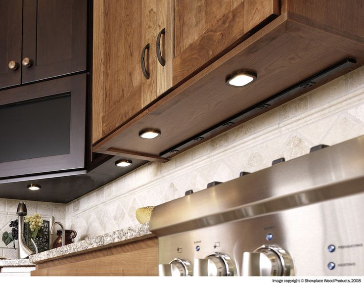 traditional kitchen by showplace wood products under cabinet lightingcabinet - Kitchen Under Cabinet Lights