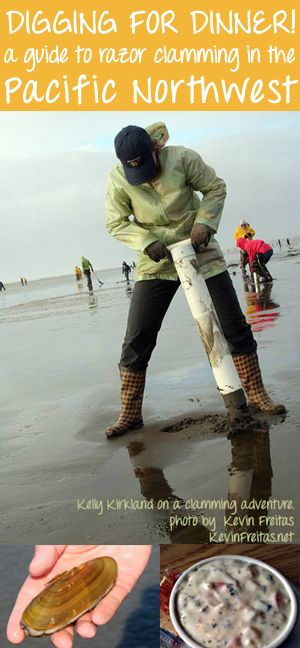 Hunters and Gatherers - a necessary occupation, relying on self and community, NOT GOVERNMENT! ... (Razor Clamming, so yummy)