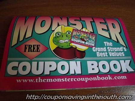 Fine dining coupon book