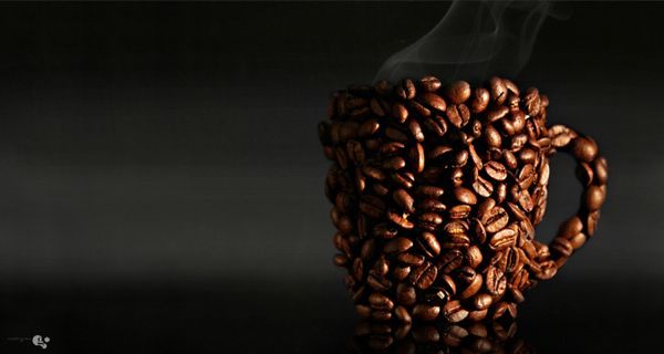 I want a strong cup of coffee.