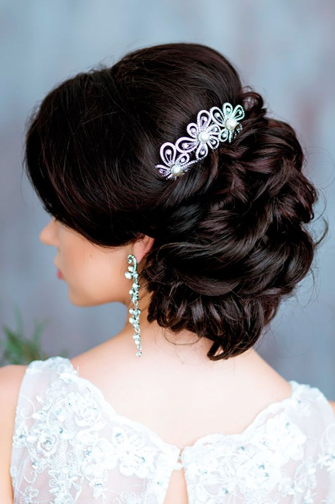 18 Timeless Wedding Hairstyles For Medium Length Hair ❤ See more…