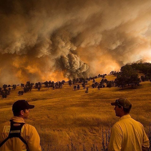 FEATURED POST  @pulaski_shovels_andmen -  #TBT Firefighters watch as the Rocky Fire burns near Clearlake CA. Aug. 1 2015. The fire nearly tripled in size over the weekend to 84 square miles. . repost @time Photograph Noah Berger .  ___Want to be featured? _____ Use #chiefmiller in your post ... http://ift.tt/2aftxS9 . CHECK OUT! Facebook- chiefmiller1 Periscope -chief_miller Tumblr- chief-miller Twitter - chief_miller YouTube- chief miller .  #firetruck #firedepartment #fireman #firefighters…