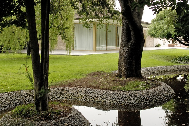 Jardín diseñado por Luis Nakagawa