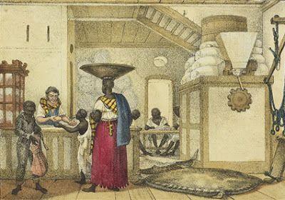 PADARIA. COLÓNIA SUÍÇA DE CANTAGALO – BRASIL (1835). Jean Baptiste Debret…