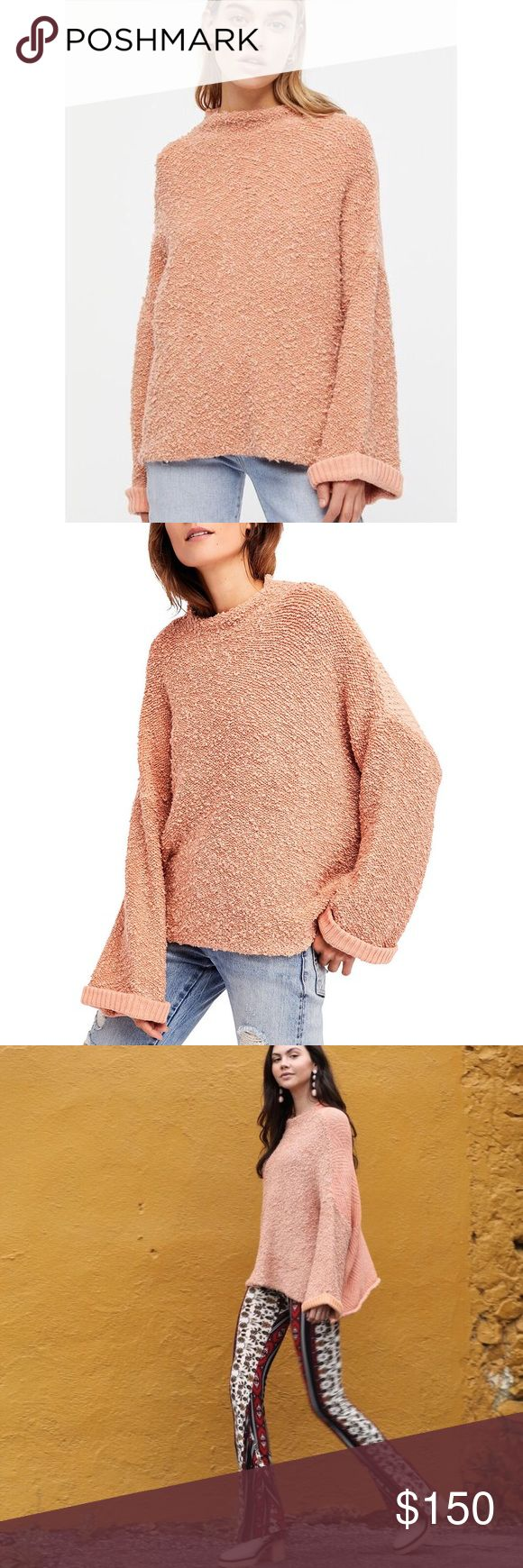 "Free People Sweater 100% authentic! Brand new with tags 💓   My boutique rules:  1. no commenting about price 2. No self advertising  3. No rude comments  4.) No advertising of other stores (such as you can find this at ""store"" for more or less) 5. No additional photos  Let's keep a positive atmosphere ! If you don't like the listing please move on. (You will be blocked and no longer allowed to shop at my boutique if any rule is broken.) Free People Sweaters Crew & Scoop Necks"