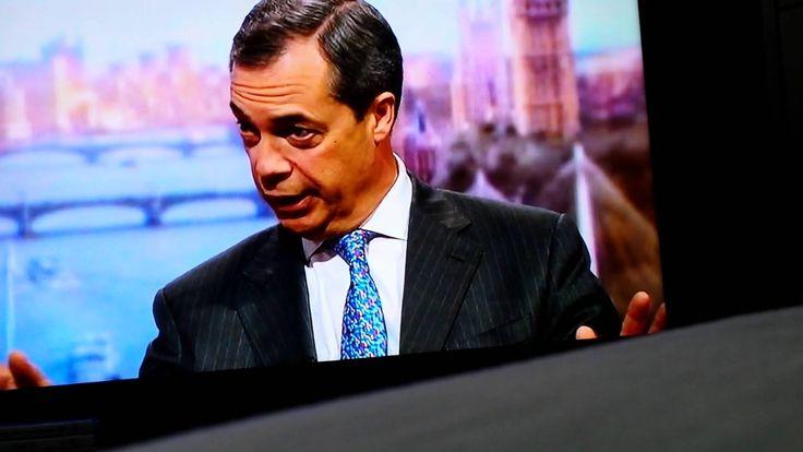 Breaking UKIP News : BBC Interview With Nigel Farage (Jan25th)