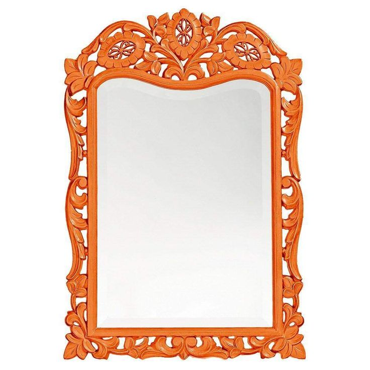 "Howard Elliott St. Agustine Orange Mirror 20"" x 29 x .75"""