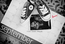 pregnancy announcement photos shoes - Google Search