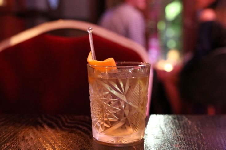 Old Fashioned cocktail, The Smoking Panda, Park Street, Sydney