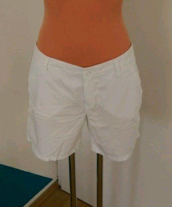 Kurze Hose Shorts weiß