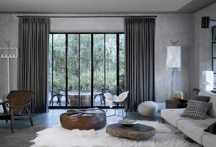 Copahome raamdecoratie gordijn, overgordijn grijs / La décoration de fenêtre. Rideaux, gris