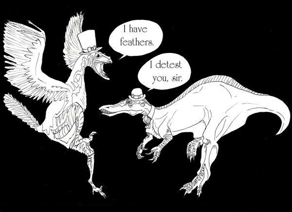 Dinosaurs Wearing Hats on Behance