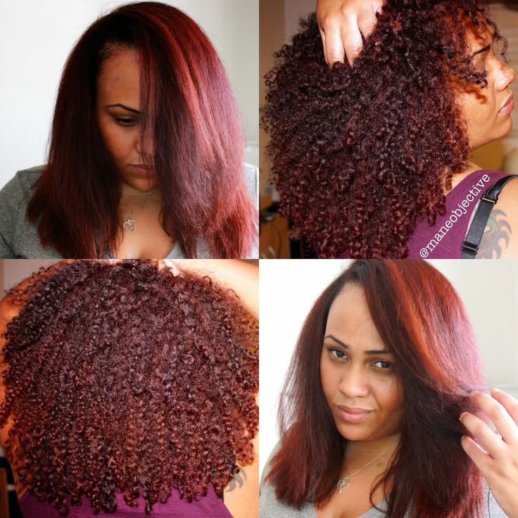 Red Natural Hair Color Natural Hair Styles Natural Red
