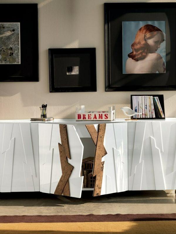 Die Holz Kommode Möbelstück Mit Zahlreichen